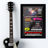 Classic Rock Festival with Festival (1998) - Concert Poster - 13 x 19 inches