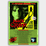 Alice Cooper with Econoline Crush (2008) - Concert Poster - 13 x 19 inches