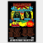 Rob Zombie with Alice Cooper & Murderdolls (2010) - Concert Poster - 13 x 19 inches
