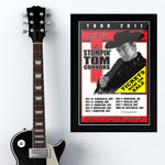 Stompin Tom Connors (2011) - Concert Poster - 13 x 19 inches