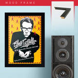 Elvis Costello (1977) - Concert Poster - 13 x 19 inches