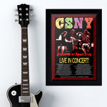 Crosby Stills Nash & Young (2006) - Concert Poster - 13 x 19 inches