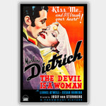 Devil Is A Woman (1935) - Movie Poster - 13 x 19 inches