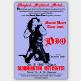 Ronnie James Dio with Rough Cutt (1985) - Concert Poster - 13 x 19 inches