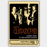 Doors with Albert King (1970) - Concert Poster - 13 x 19 inches