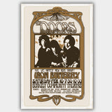 Doors with Iron Butterfly (1967) - Concert Poster - 13 x 19 inches