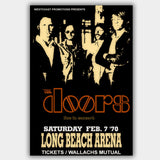 The Doors with Albert King (1970) - Concert Poster - 13 x 19 inches