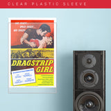 Dragstrip Girl (1957) - Movie Poster - 13 x 19 inches
