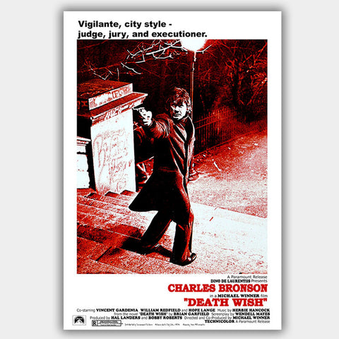 Death Wish (1974) - Movie Poster - 13 x 19 inches