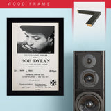 Bob Dylan (1961) - Concert Poster - 13 x 19 inches