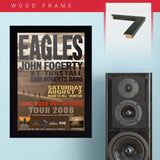Eagles with John Fogerty (2008) - Concert Poster - 13 x 19 inches