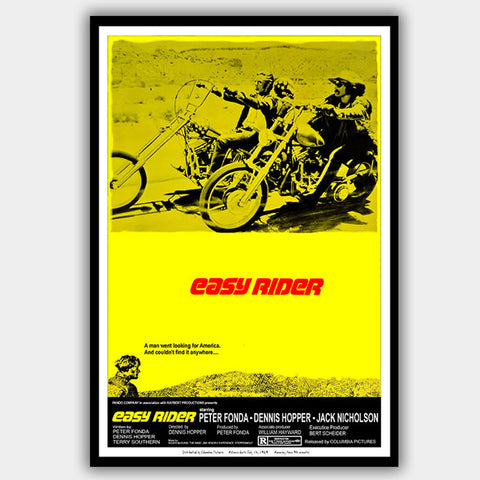 Easy Rider (1969) - Movie Poster - 13 x 19 inches
