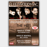Fleetwood Mac (2009) - Concert Poster - 13 x 19 inches