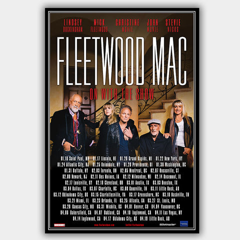 Fleetwood Mac (2015) - Concert Poster - 13 x 19 inches