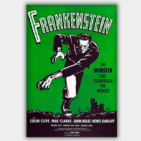 Frankenstein  (1931) - Movie Poster - 13 x 19 inches