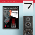 Peter Gabriel (2010) - Concert Poster - 13 x 19 inches