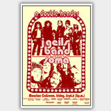 J Geils Band with Soma (1973) - Concert Poster - 13 x 19 inches