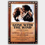 Gone With The Wind (1939) - Movie Poster - 13 x 19 inches