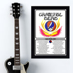 Grateful Dead (1977) - Concert Poster - 13 x 19 inches