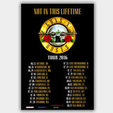 Guns N' Roses (2016) - Concert Poster - 13 x 19 inches