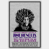 Jimi Hendrix with Blue Cheer (1968) - Concert Poster - 13 x 19 inches