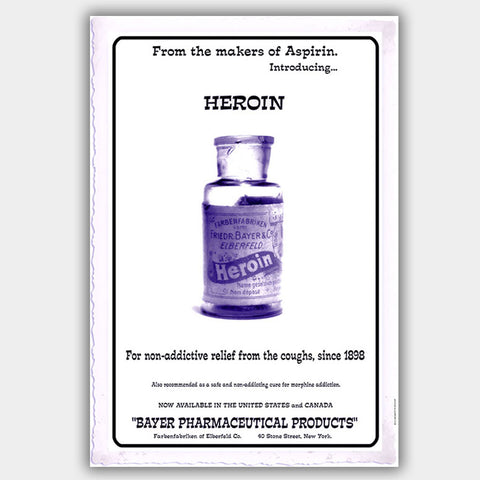 Heroin (1898) - Poster - 13 x 19 inches