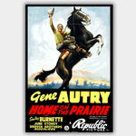 Home On The Prairie (1939) - Movie Poster - 13 x 19 inches