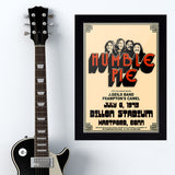 Humble Pie with J. Giels/Frampton (1973) - Concert Poster - 13 x 19 inches