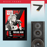 Billy Idol (2015) - Concert Poster - 13 x 19 inches