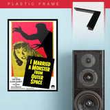 I Married A Monster From Outer Space (1958) - Movie Poster - 13 x 19 inches
