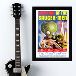 Invasion Of The Saucer Men (1957) - Movie Poster - 13 x 19 inches