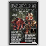 Iron Maiden (2016) - Concert Poster - 13 x 19 inches
