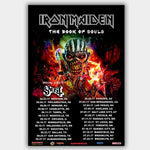 Iron Maiden (2017) - Concert Poster - 13 x 19 inches