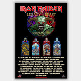 Iron Maiden (2018) - Concert Poster - 13 x 19 inches