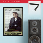 Colin James (2010) - Concert Poster - 13 x 19 inches