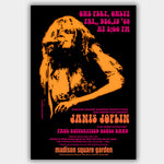 Janis Joplin with Paul Butterfield (1969) - Concert Poster - 13 x 19 inches