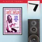 Janis Joplin with The Full Tilt Boogie Band (1970) - Concert Poster - 13 x 19 inches