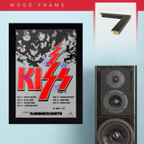 Kiss with Hammersmith (1976) - Concert Poster - 13 x 19 inches