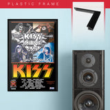 Kiss (2009) - Concert Poster - 13 x 19 inches