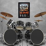 Kiss with Def Leppard (2014) - Concert Poster - 13 x 19 inches