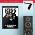 Kiss with Rush (1975) - Concert Poster - 13 x 19 inches