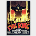 King Kong - French (1933) - Movie Poster - 13 x 19 inches
