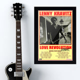 Lenny Kravitz with Sloan (2008) - Concert Poster - 13 x 19 inches
