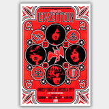 Led Zeppelin (1977) - Concert Poster - 13 x 19 inches