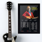 Gordon Lightfoot (2014) - Concert Poster - 13 x 19 inches