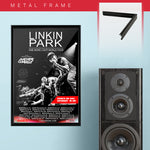 Linkin Park with Machine Gun Kelly (2017) - Concert Poster - 13 x 19 inches