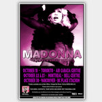 Madonna (2009) - Concert Poster - 13 x 19 inches