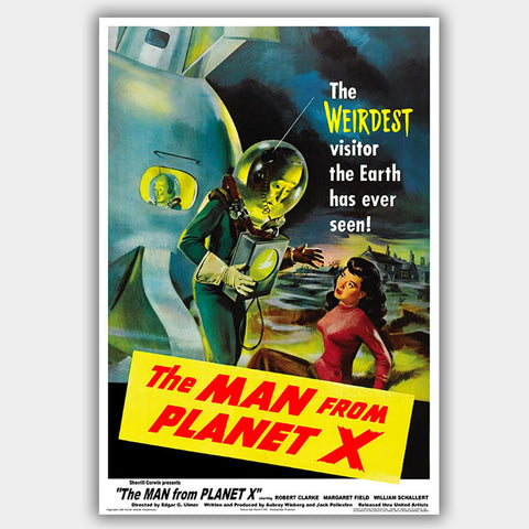 The Man From Planet X (1951) - Movie Poster - 13 x 19 inches