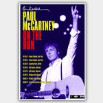 Paul Mccartney (2011) - Concert Poster - 13 x 19 inches