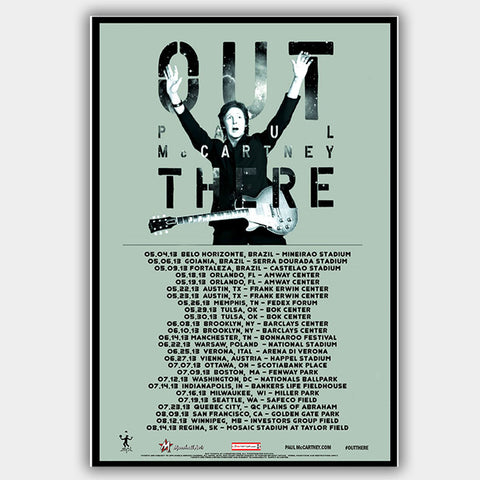 Paul Mccartney (2013) - Concert Poster - 13 x 19 inches